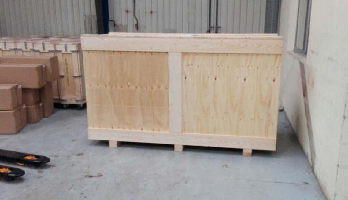 Caisse bois sur mesure pour industrie