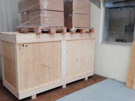 caisse en bois sur mesure