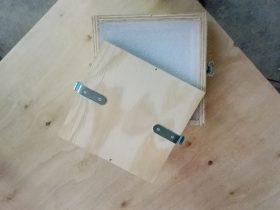 Caisse bois avec mousse de protection