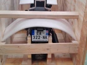 Caisse bois export moto
